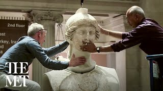 Installation of the Statue of Athena Parthenos (ca. 170 B.C.)