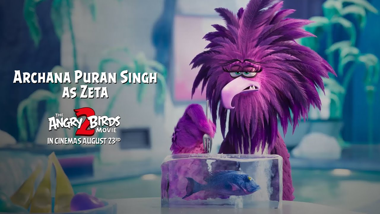 Angry Birds Movie 2 Archana Puran Singh As Zeta With Kapil
