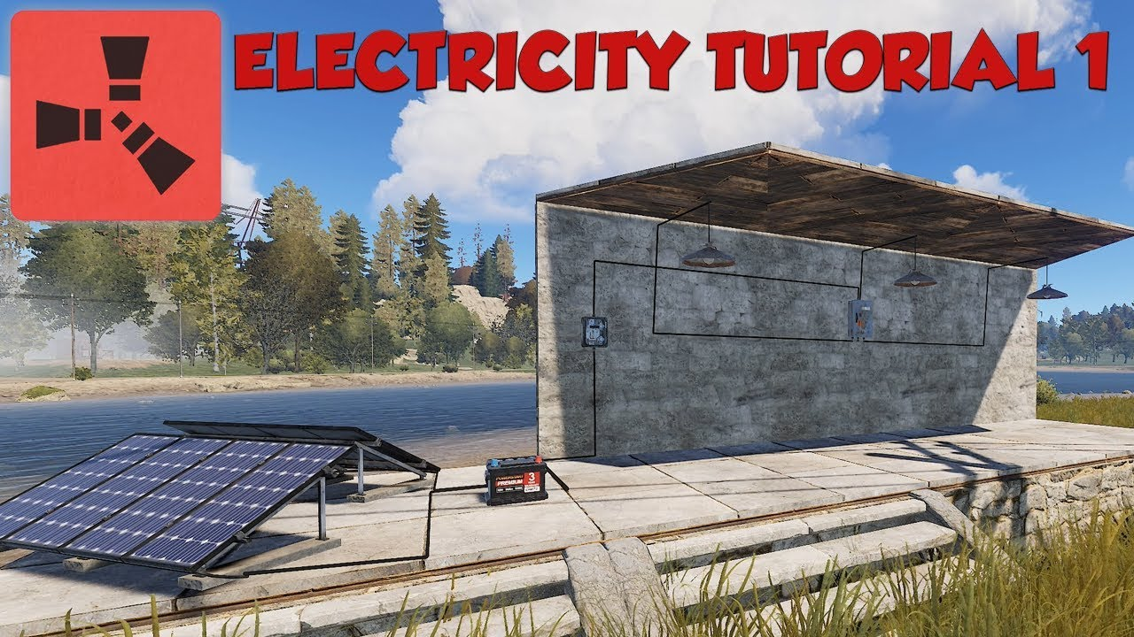 Rust Electricity Tutorial  1 - Lights - Switches