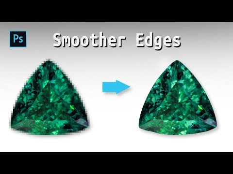 How to Make Smooth Edges in Photoshop in 5 Minutes