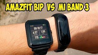 Xiaomi Mi Band 3 VS AmazFit Bip. Чем отличаются и что лучше купить?