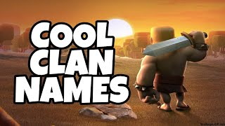 Best clan names for clans in clash royale or clash of clans or other games ll Part 2 ll MSG