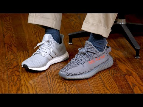 Yeezy 350 V2 vs. adidas Ultra Boost