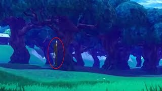 Slender Man In Fortnite? yes IS REAL!!!