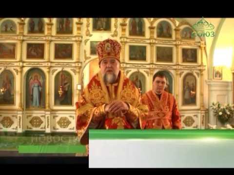 Архиерейское богослужение состоялось в Почепе, Клинцовской епархии, в Воскресенском соборе города