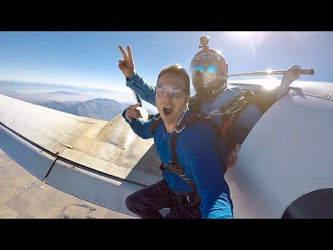 FLYING WITH A GOPRO LEGEND