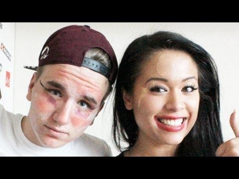IN YOUR FACE - Make Up Quiz mit Sven - Sprink
