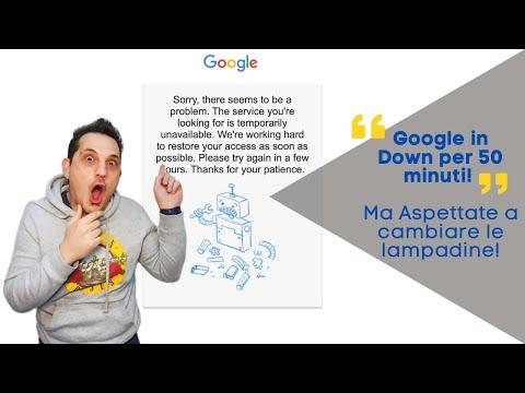 Google Down: suggerimenti per gli Admin GSuite e non solo