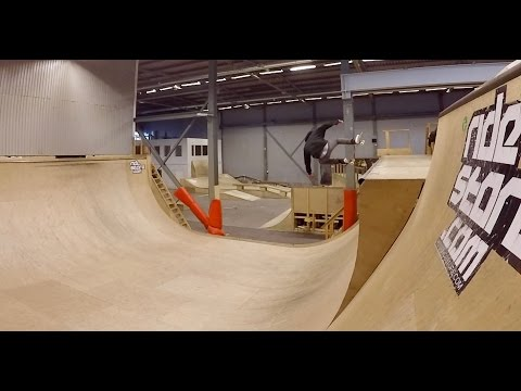 KFUM Skatehall Borlänge Skatepark - Largest indoor bowl in Sweden