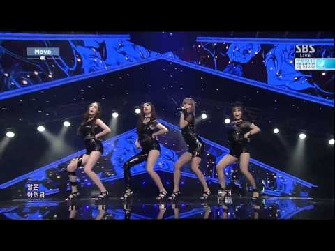 4L Move (Four Ladies) Inkigayo 140914