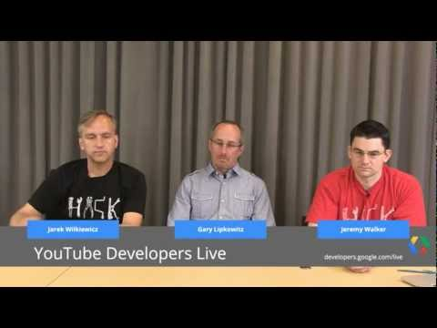 YouTube Developers Live: GoAnimate Demo and a Session on Preventing Quota Errors
