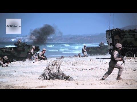 US Marine Amphibious Warfare - 4th Assault Amphibious Battalion's Annual Training