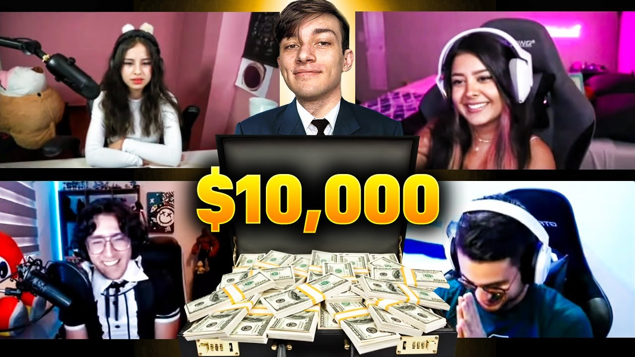 STREAMERS DECIDEN QUIEN SE LLEVA $10,000 🤑