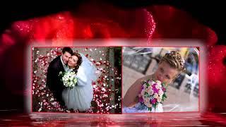 Красивые шаблоны для свадебного слайд шоу online video cutter com
