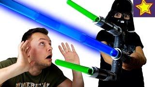Игрушки Hasbro Световой Меч Star Wars Распаковка игрушки Kids toys video