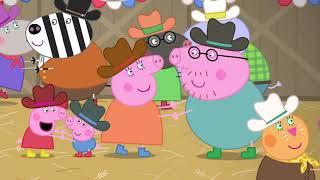 Peppa Pig en Español 🇺🇸 NUEVO EPISODIO Peppa Pig visita los Estados Unidos: El restaurante 🇺🇸 Pepa