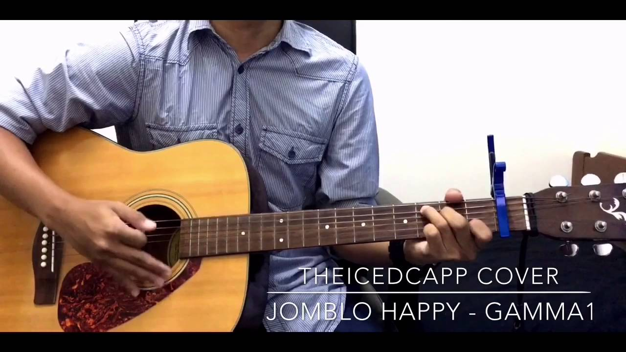 Gamma1 Jomblo Happy Theicedcapp Cover Easy Chords Youtube