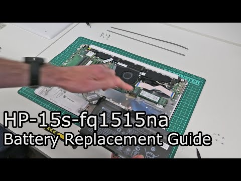 HP 15s-fq1515na Battery Replacement Guide