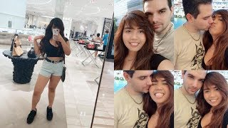 VLOGGING IN DOWNTOWN MIAMI!!! 2018 | FIL-AM MARRIED COUPLE