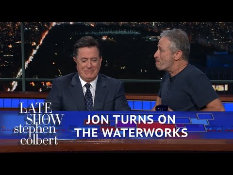 Thumbnail: Jon Stewart Reveals Stephen's Prize In 'Night Of Too Many Stars'