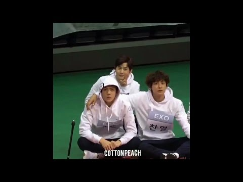170116 EXO ✪  ISAC   ♥ 세훈 sehun Chanyeol Suho