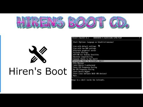 Hiren's Boot CD Windows Repair Tools | All-in-one Bootable Rescue Disc