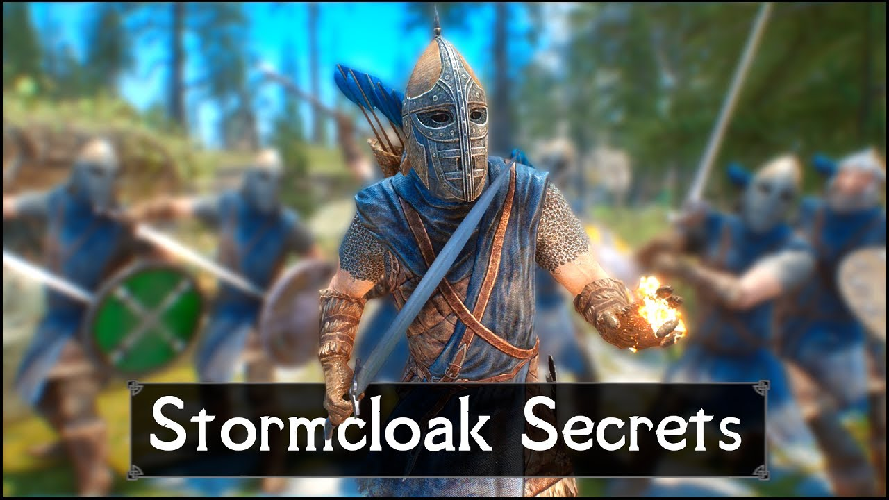 Skyrim: 5 Things They Never Told You About The Stormcloaks thumbnail