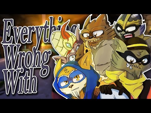Everything Wrong With Sly Cooper: Thieves in Time in 34 and a Half Minutes