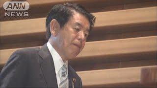 """突然の申し入れに衝撃・・・下村大臣""""辞任""""安倍総理に(15/09/25) thumbnail"""