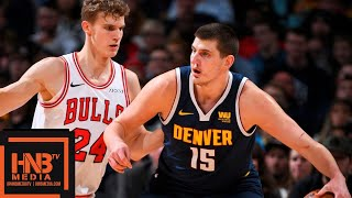 Denver Nuggets vs Chicago Bulls Full Game Highlights | 01/17/2019 NBA Season