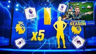 ME TOCAN 5 TOTS DE LA PREMIER!!!   30 MEJORAS +81 PREMIER LEAGUE!!   FIFA 19