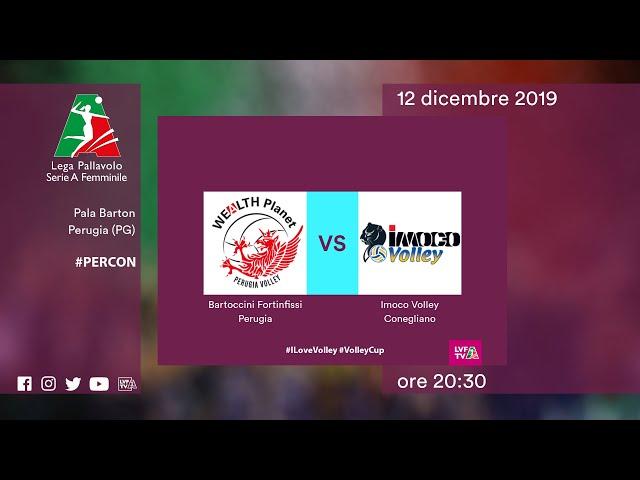 Perugia - Conegliano | Speciale | 9^ Giornata | Lega Volley Femminile 2019/20