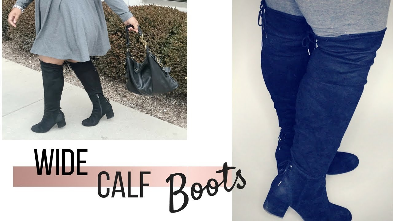a884df3fbe5 Wide Calf Boots Haul