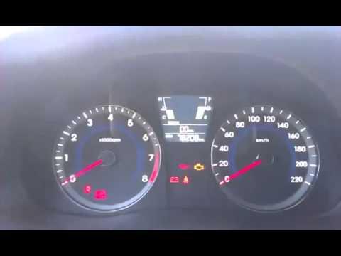 Скрутить пробег Hyundai Solaris 2014г.в.,без разбора, через разъем .