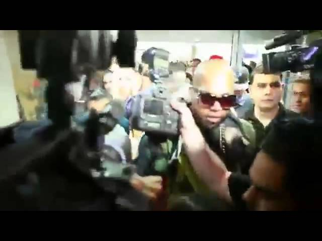 Llegada de Tempo  a Puerto Rico en HD  - video COMPLETO  10 9 2013
