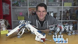 Ein sensationelles Clone Wars Set! 10195 Republic Dropship mit AT-OT von LEGO® Star Wars