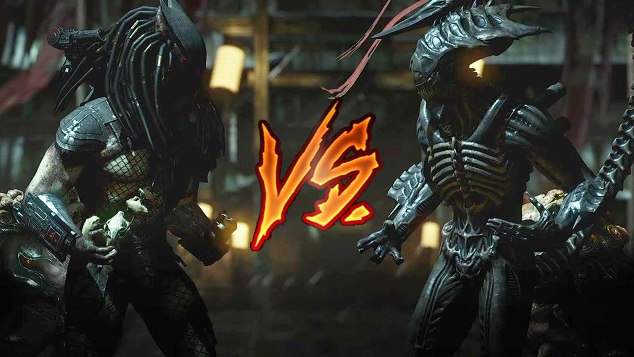 Mortal Kombat X - Predator Vs. Alien (VERY HARD) - YouTube