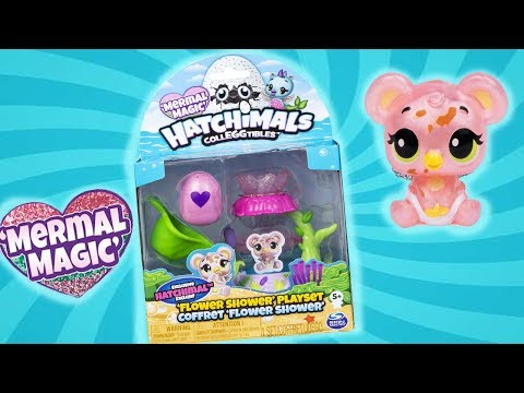 Hatchimals colleggtimals Secret SCENE Playset