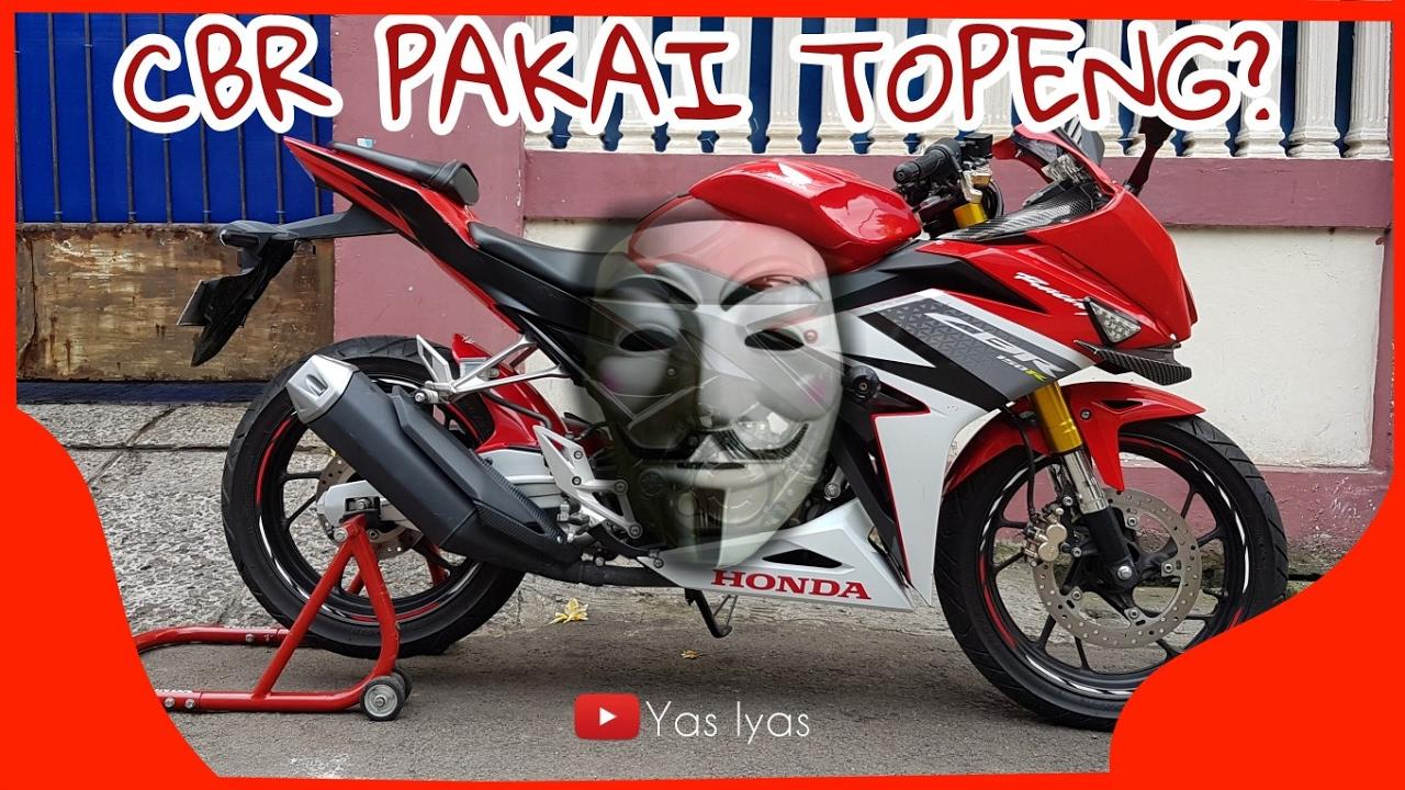 Cbr150r Pakai Topeng Jadi Mirip Cbr1000rr Atau Cbr250rr All New Cbr 150r Victory Black Red Jepara