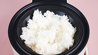 Waffle Iron vs Korean scorched rice 와플기계로 누룽지 누르기 #Shorts