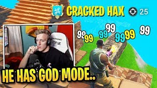 Tfue *SHOCKED* Spectating This CRACKED Hacker on Controller...
