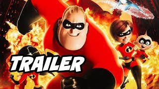 Incredibles 2 Trailer Breakdown and Easter Eggs