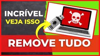 Como Remover Vírus AUTORUN.INF, RECYCLER do PENDRIVE e Computador