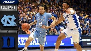 North Carolina vs. Duke Full Game | 2019-20 ACC Men's Basketball