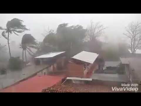 Tormenta deja casas dañadas en San Luis Acatlán Guerrero