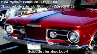 1964 Plymouth Barracuda  for sale in Nationwide, NC 27603 at #VNclassics