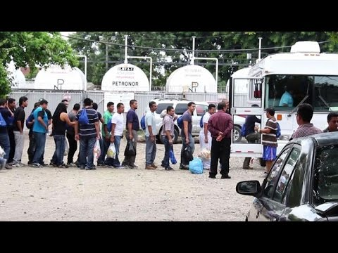 Honduras receives first group of child deportees from US