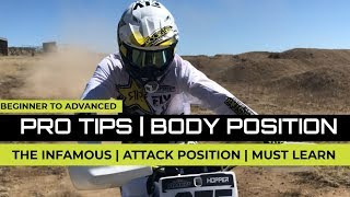Basic Body Position | Every Rider Should Master | Attack Postion For Beginners