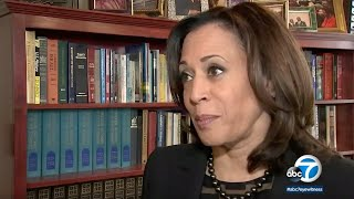 Kamala Harris shares achievements & challenges of the African-American community in ABC7 interview