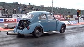 JPM 1776cc 6 Speed Sequential Gearbox VW Beetle - 11.1 @ 119mph